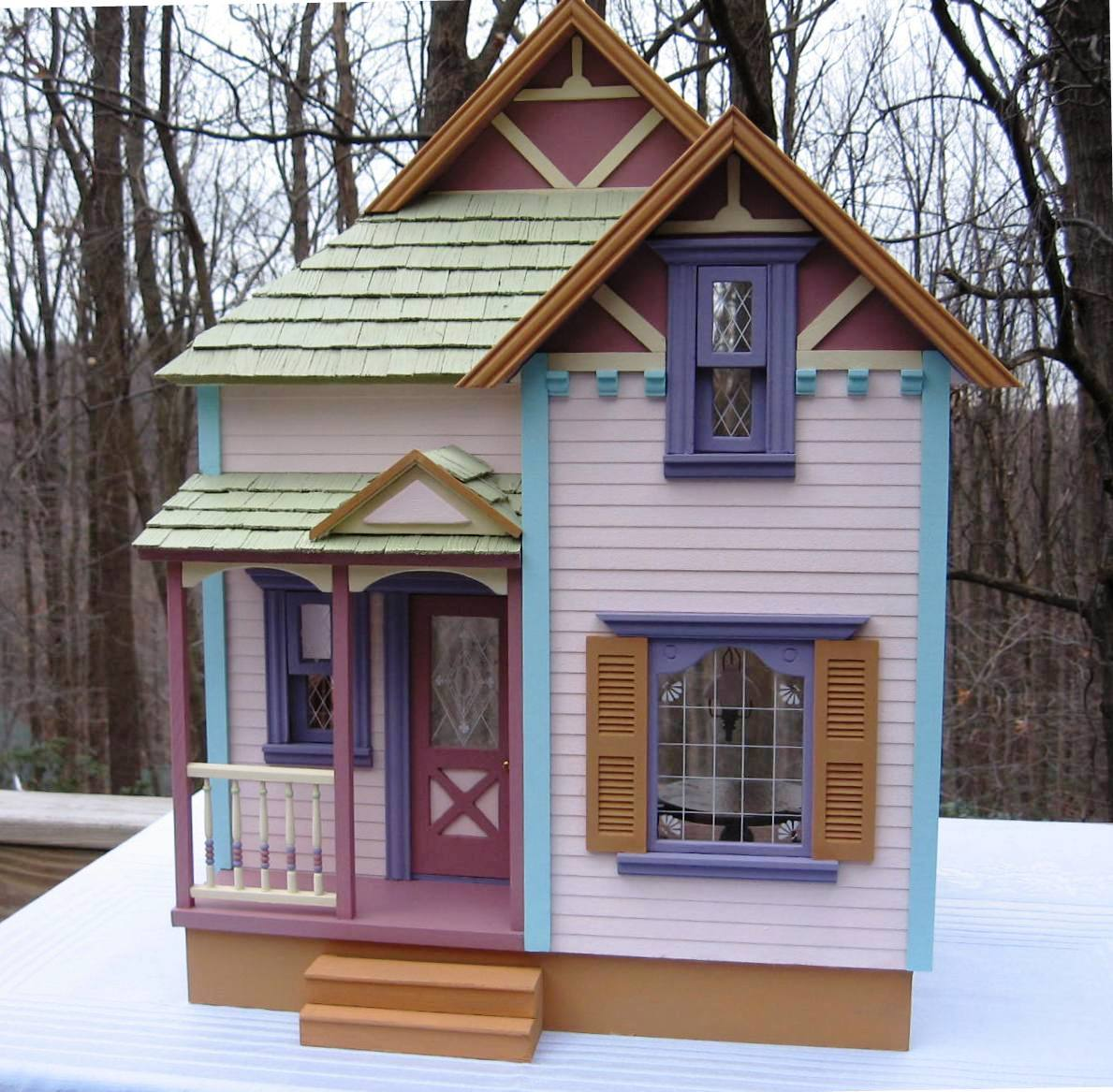 Nonnies Dollhouses Handcrafted Dollhouses Frederick Md