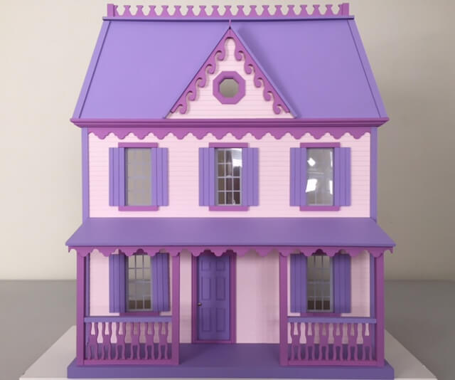 The Cranberry Cove dollhouse